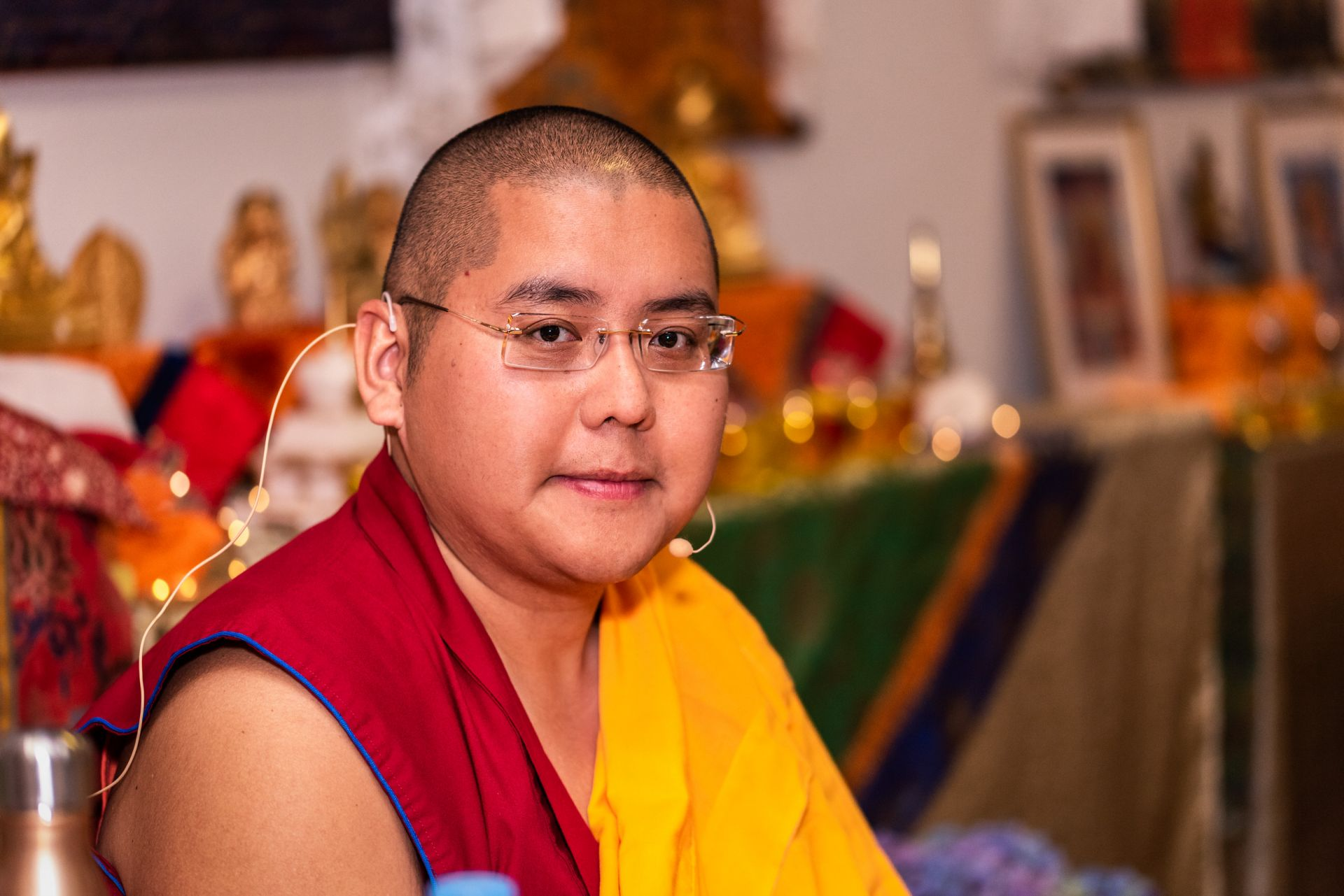 FPMT Hispana Welcomed His Eminence Ling Rinpoche to Spain