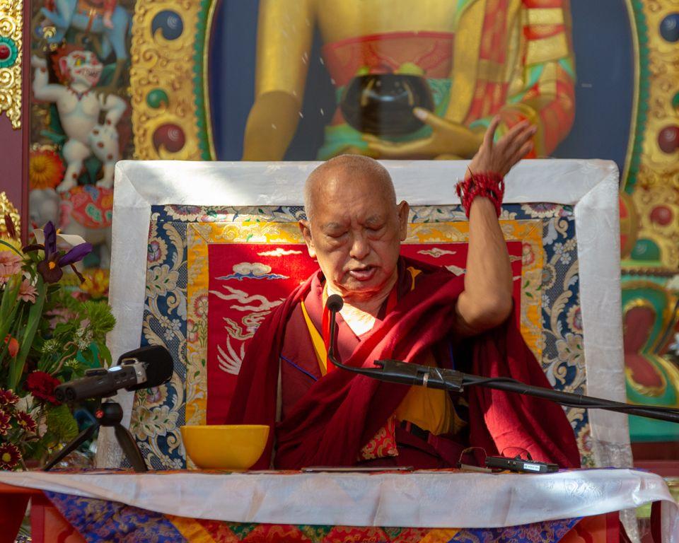 Lama Zopa Rinpoche Nalanda Monastery France May 2019