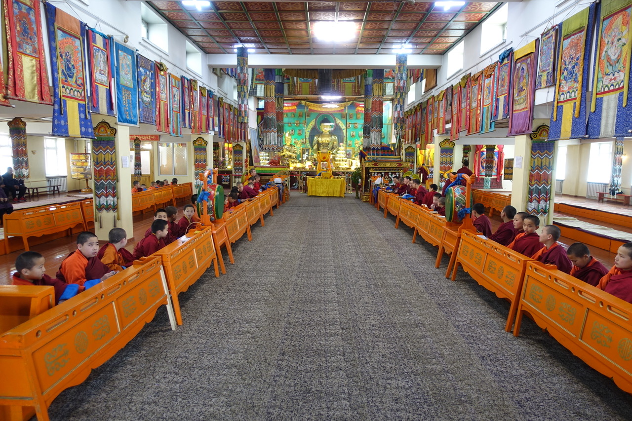 Sponsoring the Expansion of Idgaa Choizinling Monastery, Mongolia