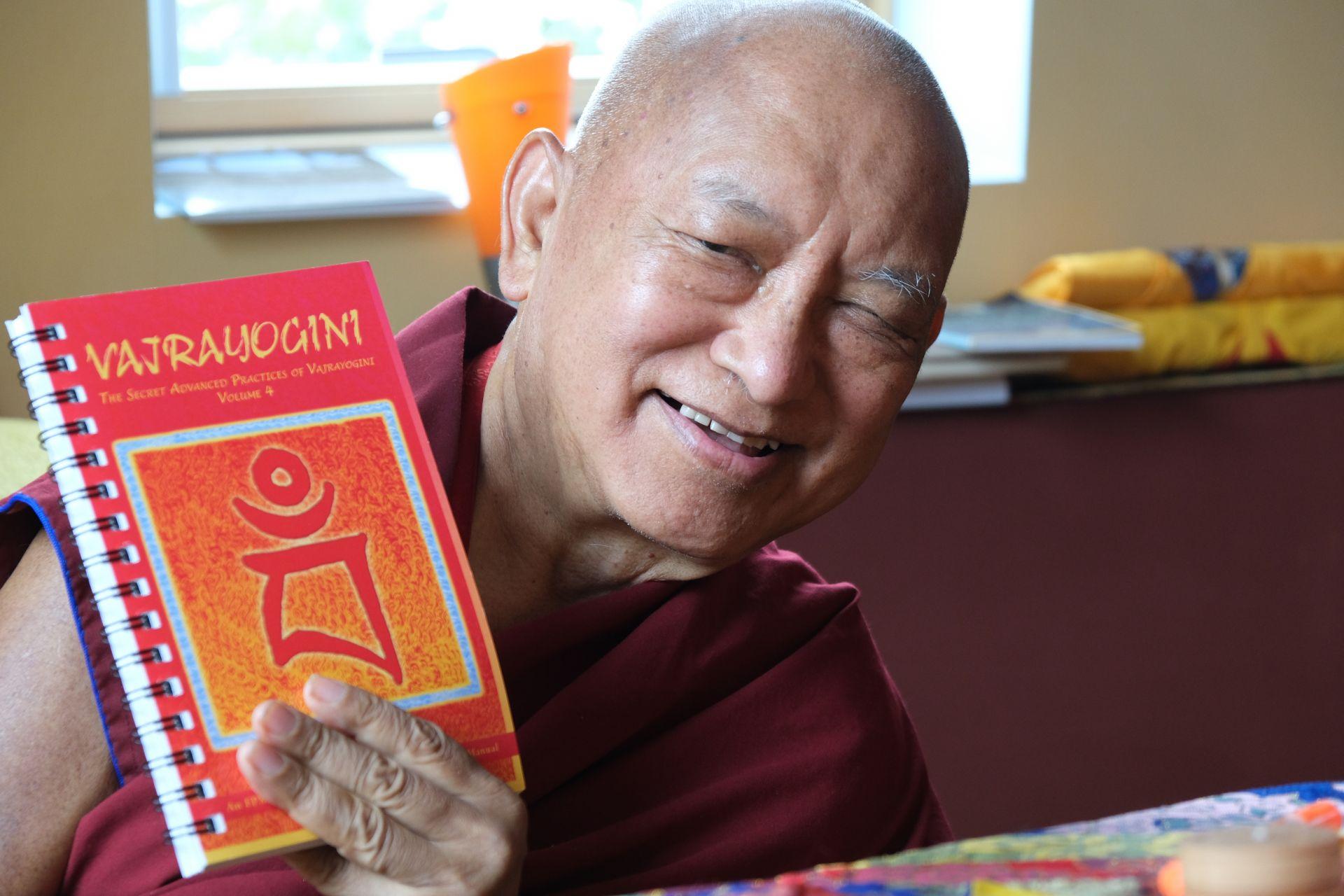 The Secret Advanced Practices of Vajrayogini