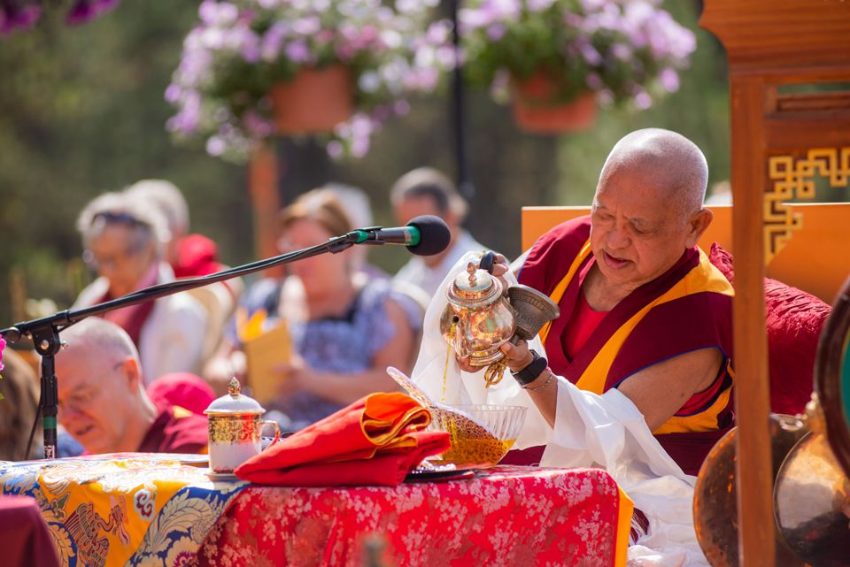 Lama Zopa Rinpoche Buddha Amitabha Festival