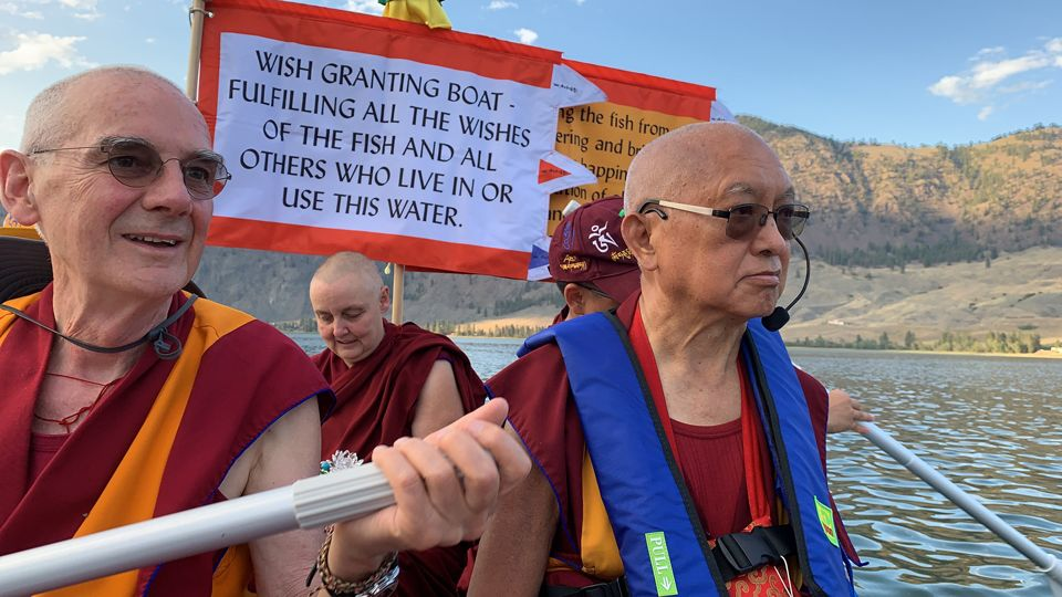Lama-Zopa-Rinpoche-lake-Washington-Aug-2019