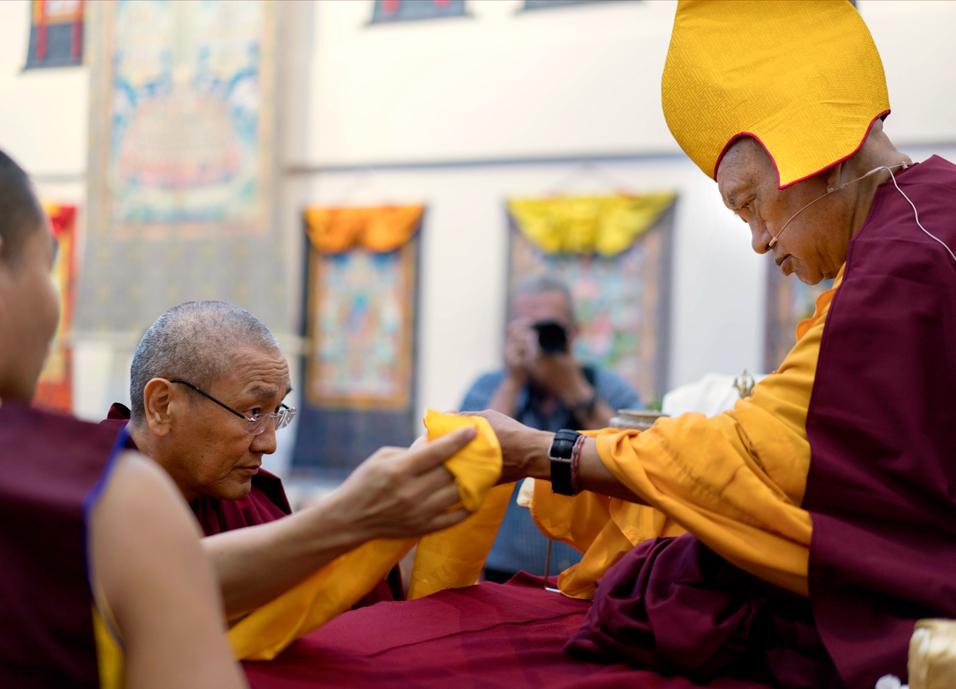Lama Zopa Rinpoche Visits Singapore
