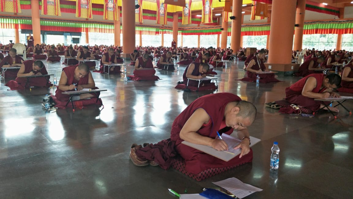 2019 Sponsorship of Special Memorization Exam for Sera Je Monks