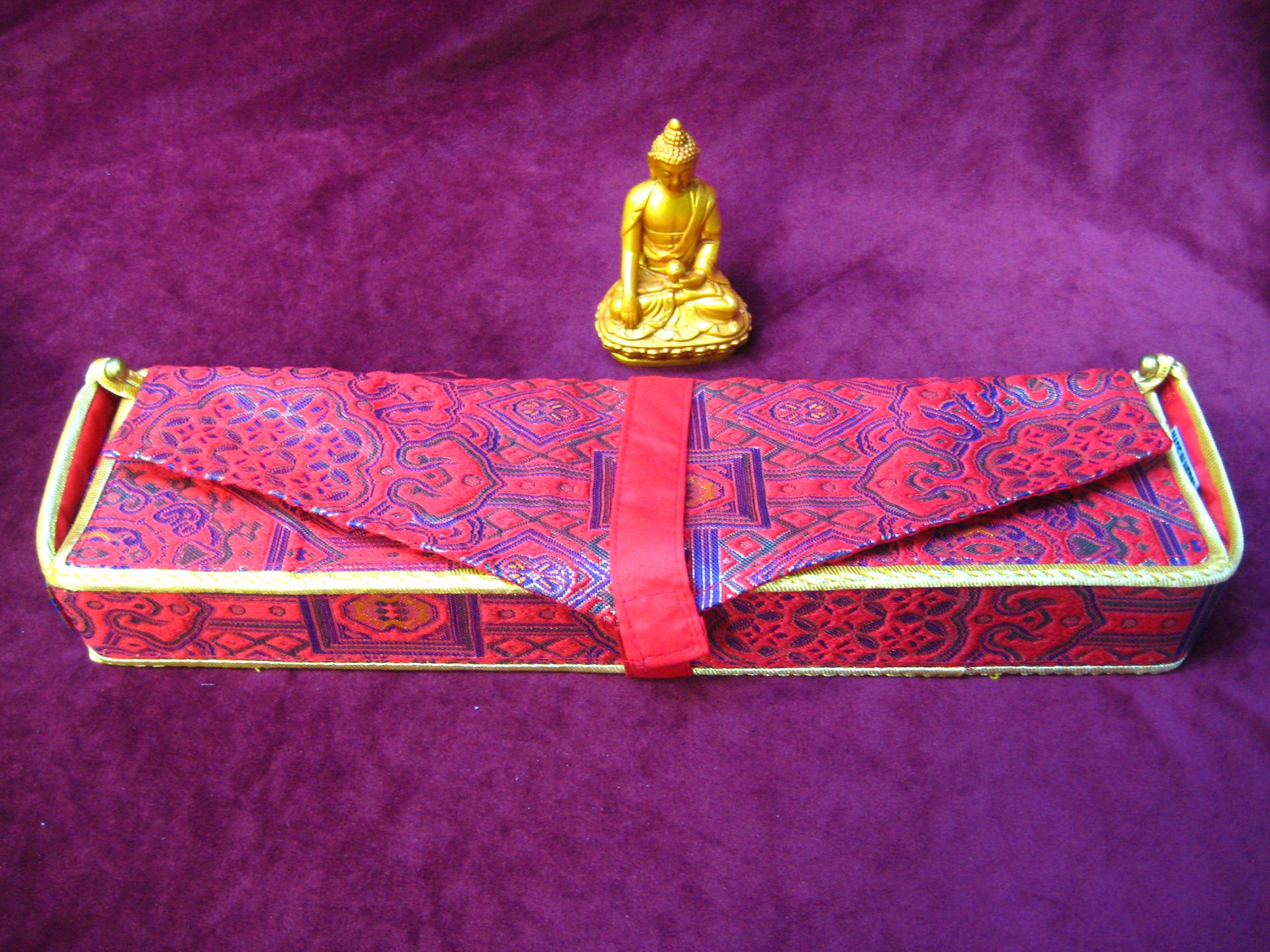 Brocade Dharma Text Covers