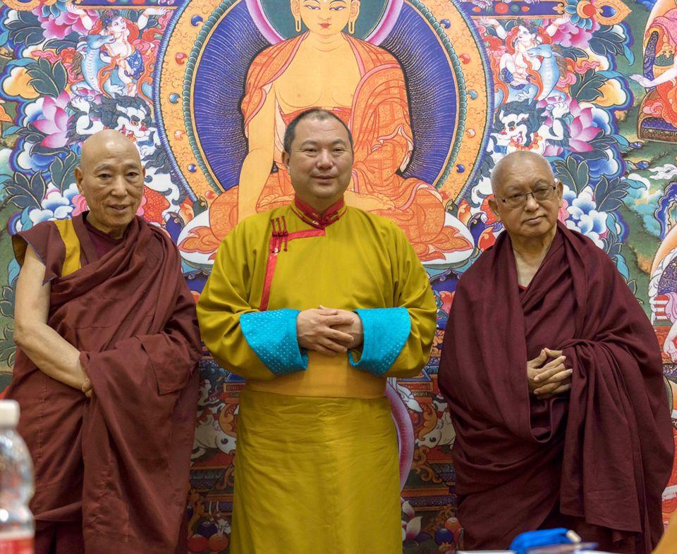Lodoi-Rinpoche-Telo-Rinpoche-Lama-Zopa-Rinpoche-Elista-Kalmykia-Russia-Oct-2019