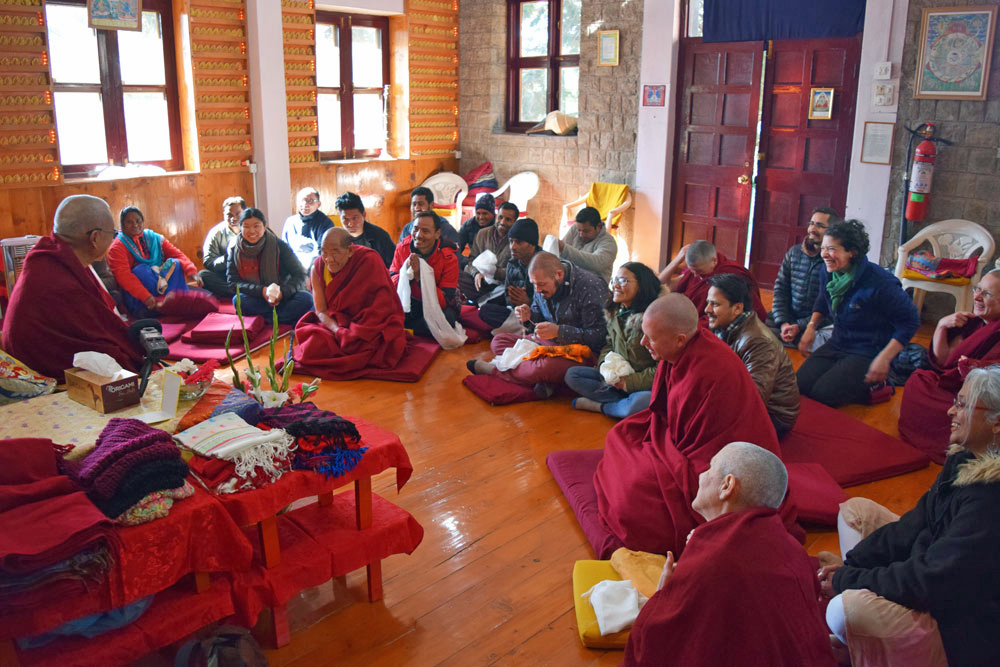Tushita Meditation Centre's 2019 Highlights