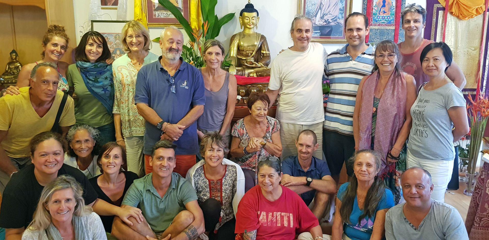Centre de Méditation Naropa Rejoice in Their Connection with Sixte Vinçotte