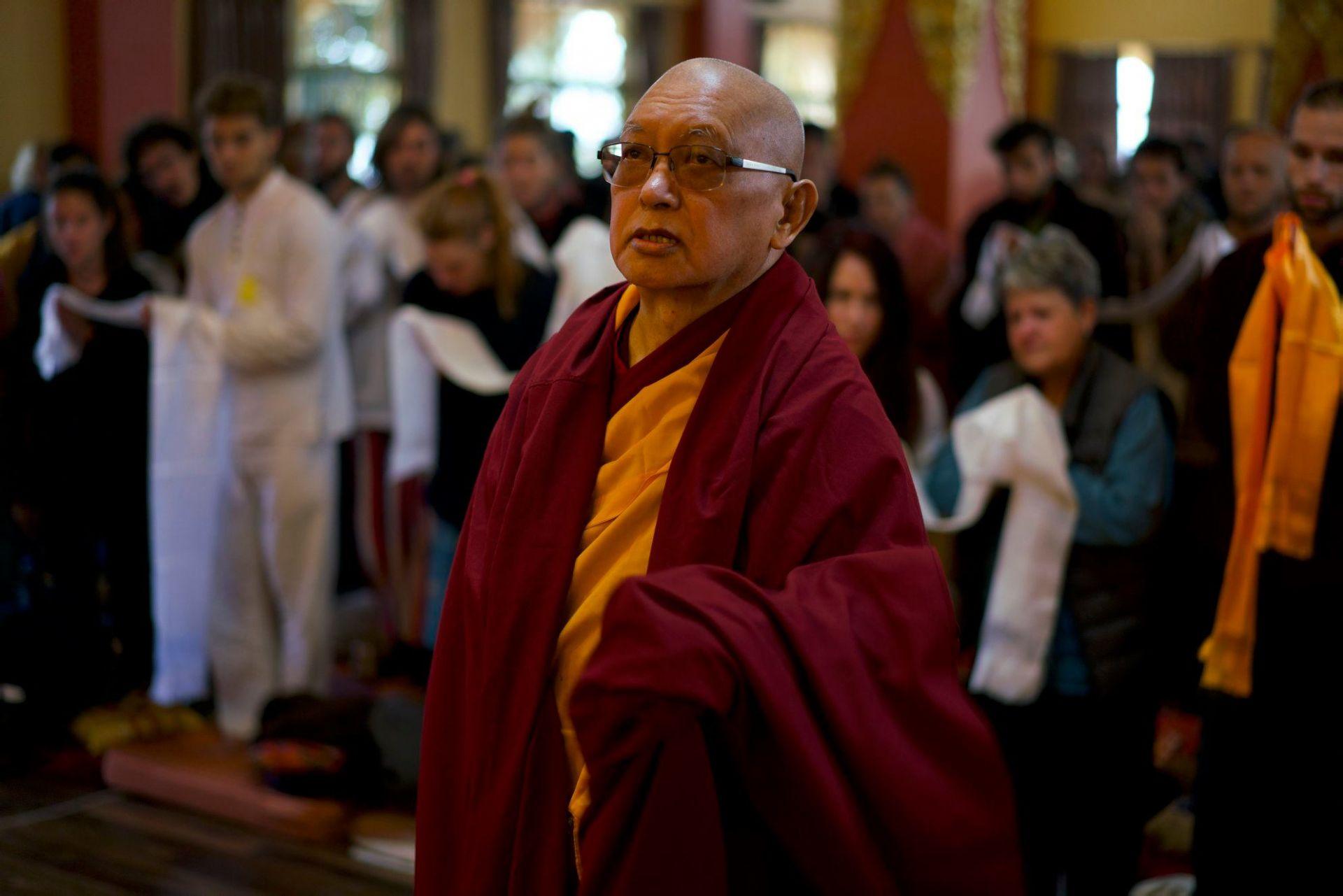 Watch Lama Zopa Rinpoche Teaching LIVE from Kopan Monastery