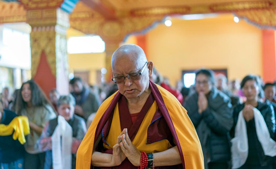 Lama-Zopa-Rinpoche-Kopan-Monastery-Nepal-2019