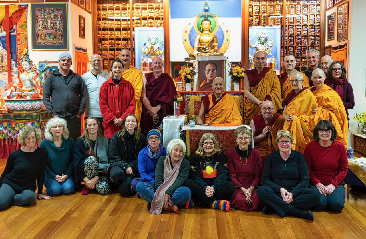 Students Benefited from Atisha Centre Spring Retreat with Geshe Thubten Rabten