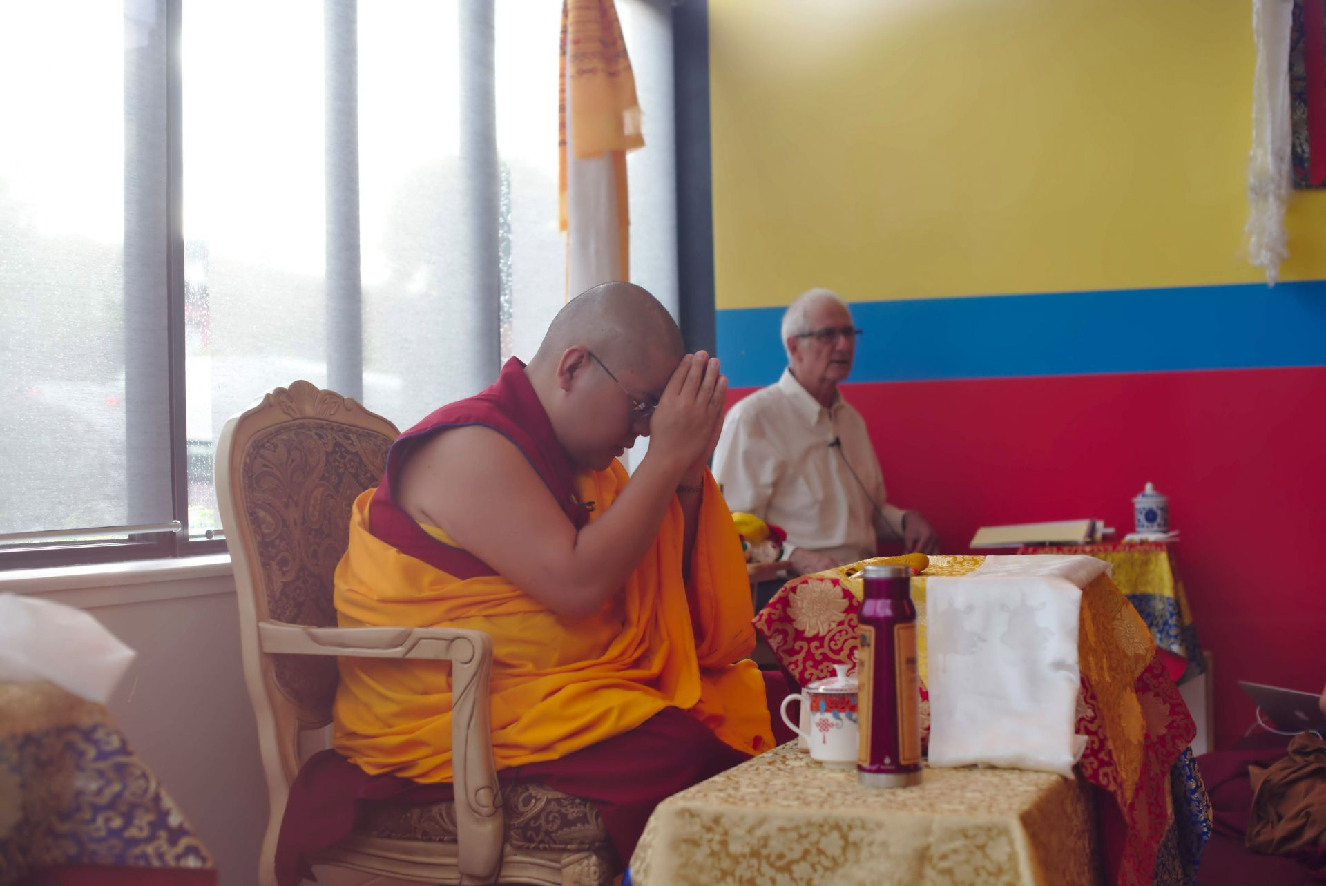 His Eminence Ling Rinpoche Welcomed to the Northeastern United States