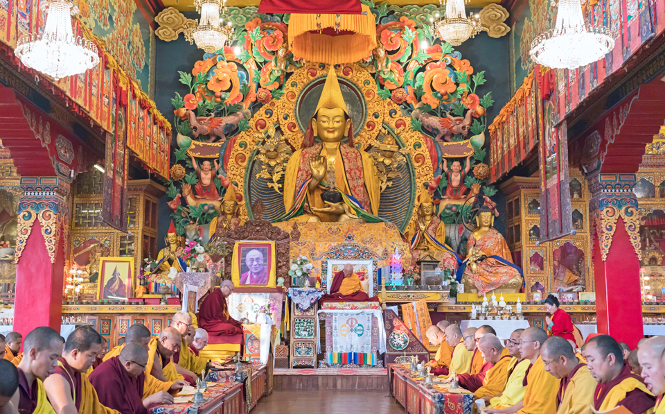 Puja-for-Lama-Zopa-Rinpoche-birthday-Kopan-2019