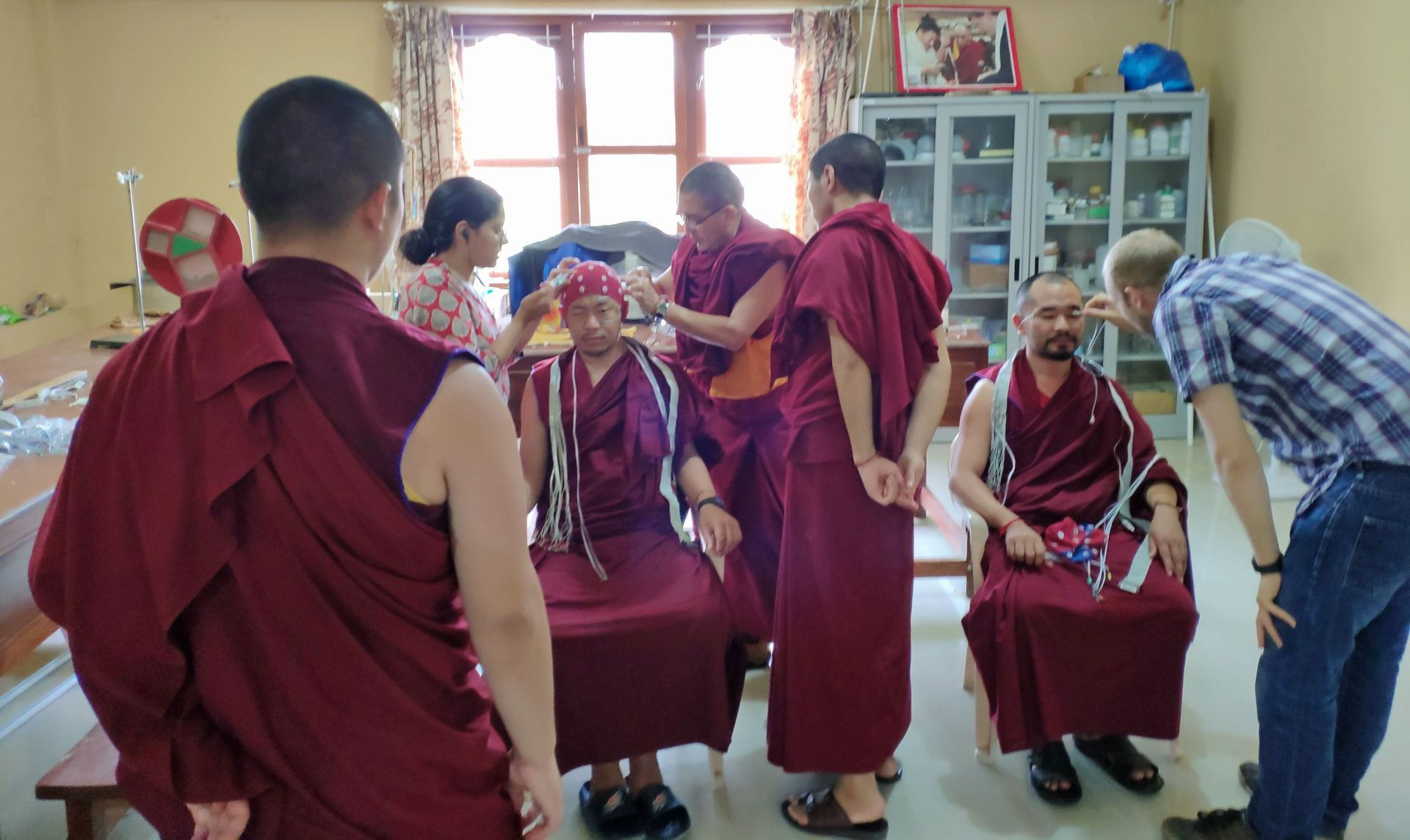Neuroscientists Benefit from Visits to Sera Je Monastic University