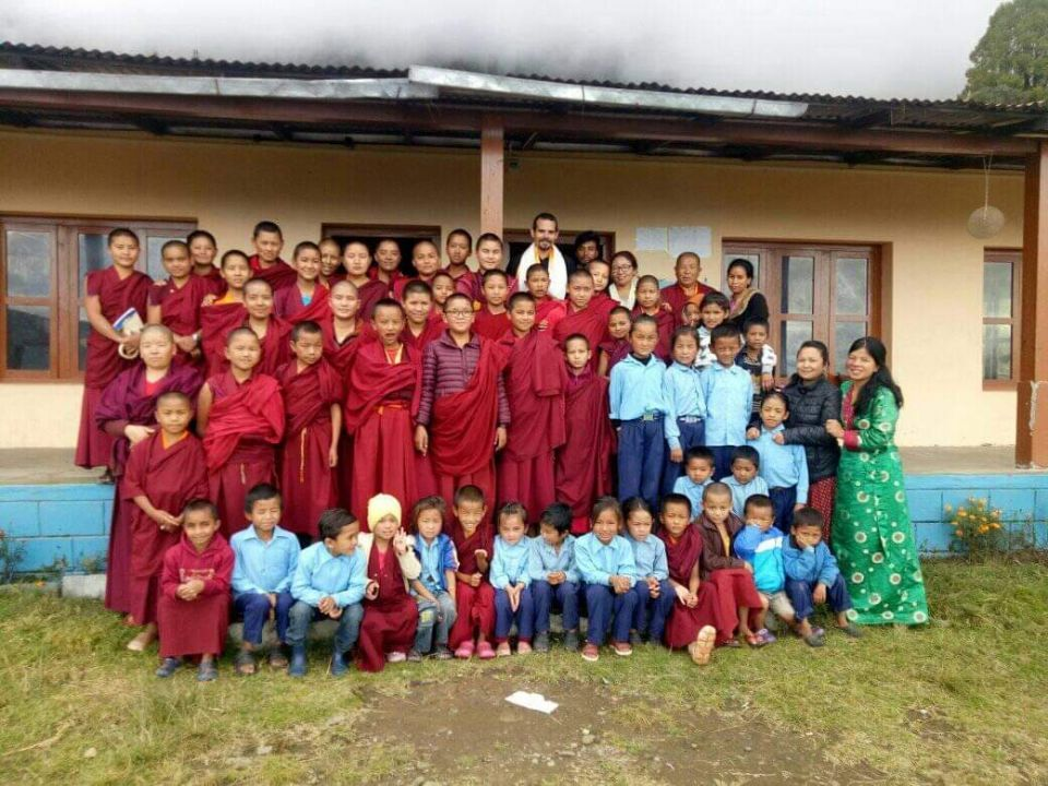 100 Million Mani Retreats Sponsored at Tashi Chime Gatsal Kagyu Nunnery in Nepal Since 2009