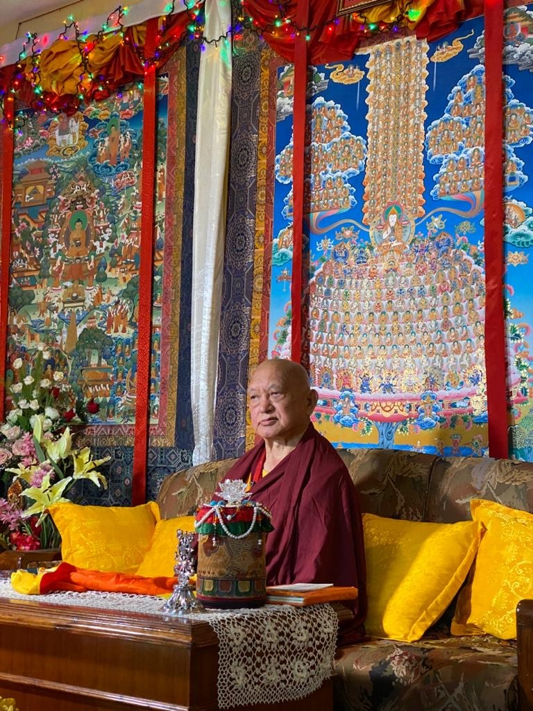 Lama Zopa Rinpoche's Advice to a Person Who Is Dying