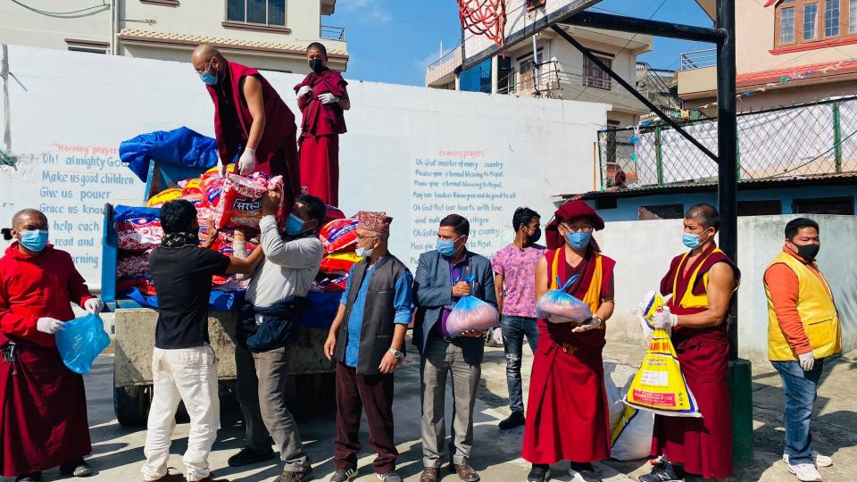 Kopan Helping Hands Revived for COVID-19 Crisis Relief