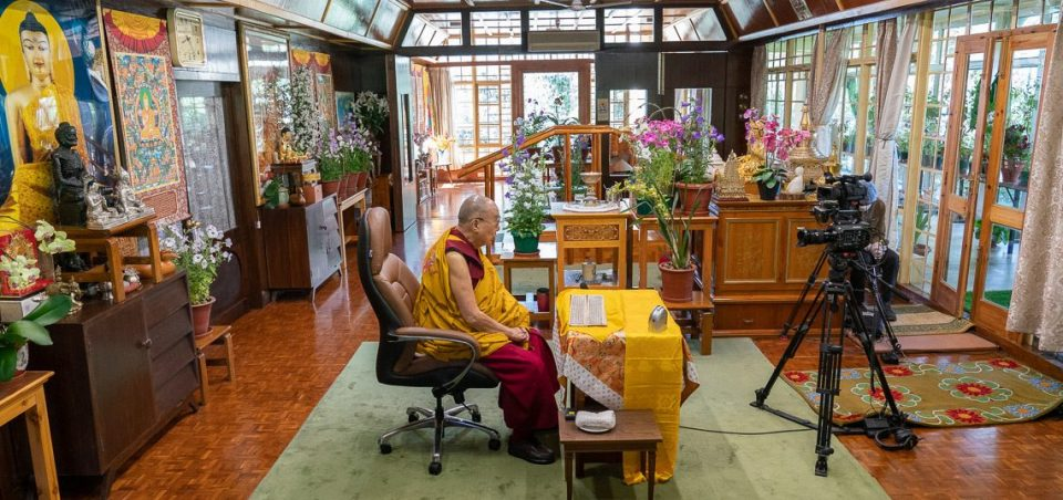 His Holiness the Dalai Lama's Live Online Teachings