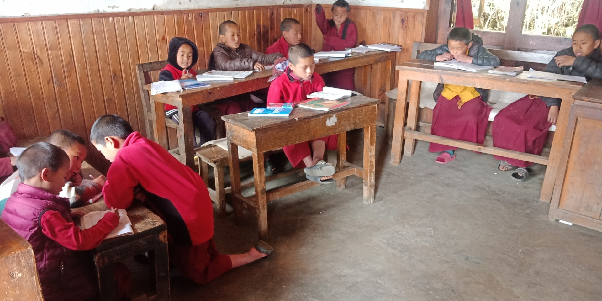 COVID-19 Impacts Schools Supported by FPMT Social Service Fund: Sagarmatha Secondary School, Nepal