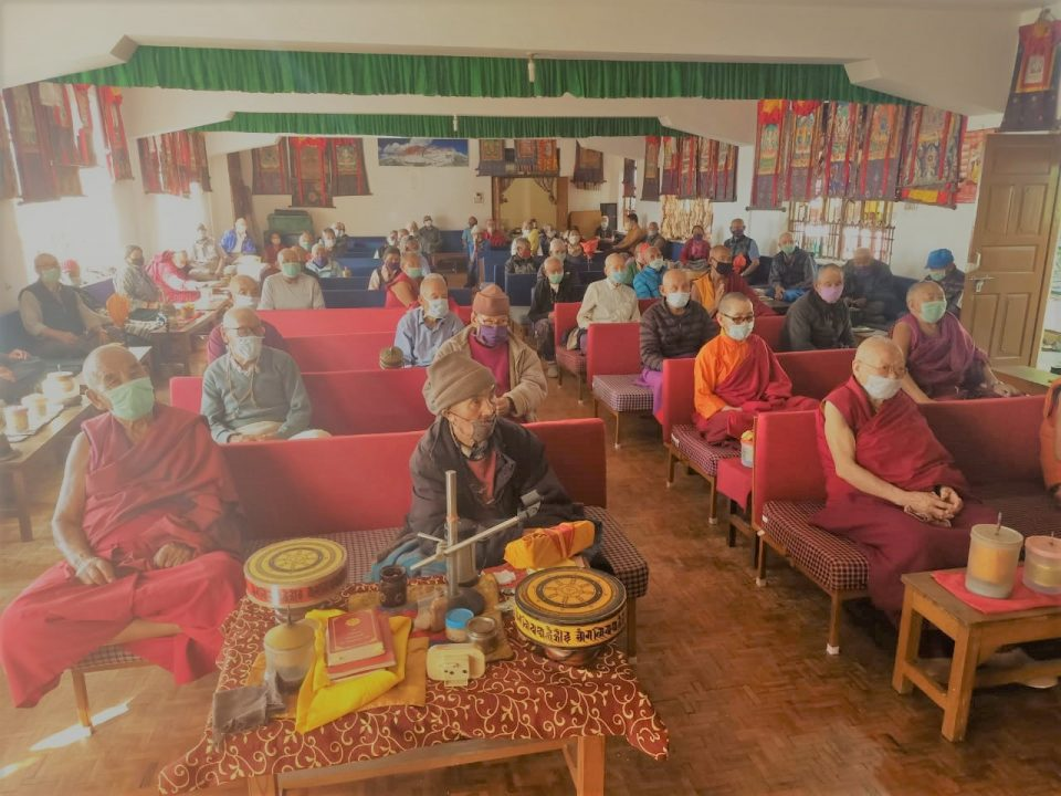 COVID-19 Impacts Elderly Homes Supported by FPMT Social Service Fund: Jampaling Elder's Home, India