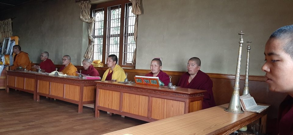 Nuns of Tashi Chime Gatsal Nunnery, Nepal, Engage in Nyung Nä Retreat on Saka Dawa for World Peace and Healing
