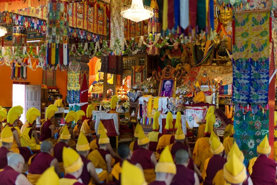 Special Powerful Long Life Puja Offered to Lama Zopa Rinpoche at Kopan Monastery