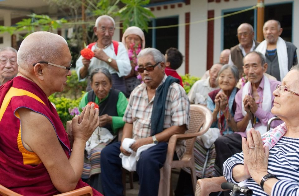 Direct Support Offered to Tibetan Elders in India in 2020