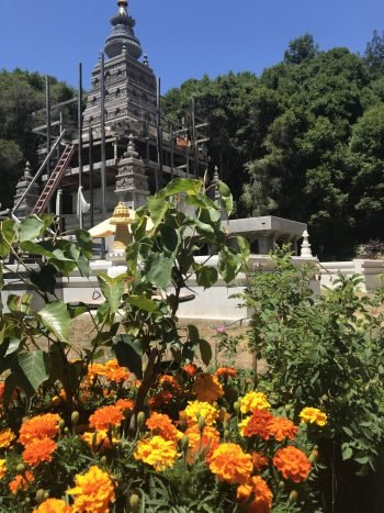 Land of Medicine Buddha's 100,000 Stupa Project Progresses