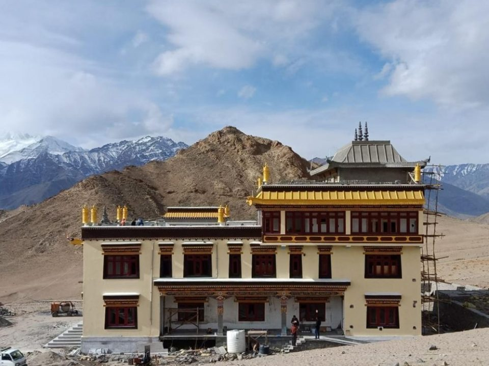 Support Offered to Magnificent New Temple at Ngari Institute, Ladakh