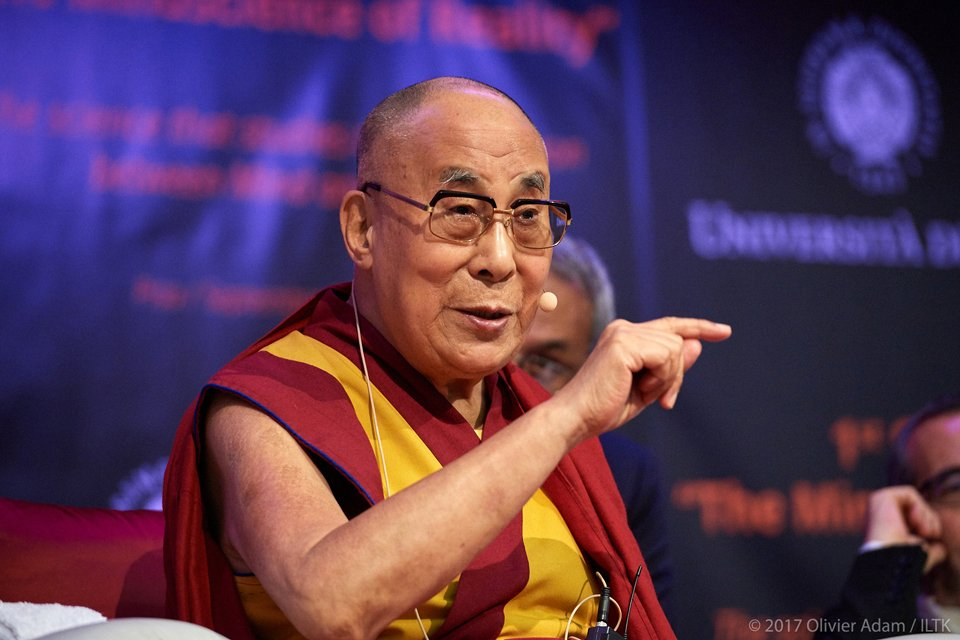 Watch His Holiness the Dalai Lama Celebrate a New Book on Science and the Mind