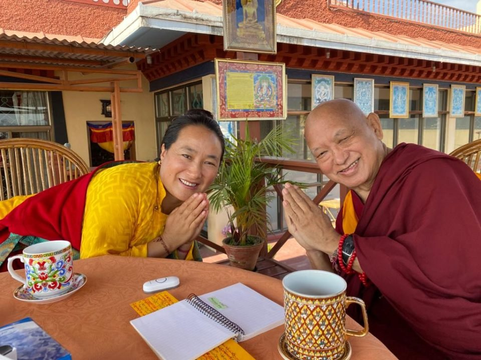 Official Long Life Puja Offered to Lama Zopa Rinpoche on December 25