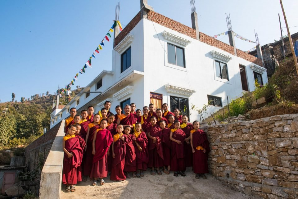Investing in the Expansion of Maratika Monastery, Nepal
