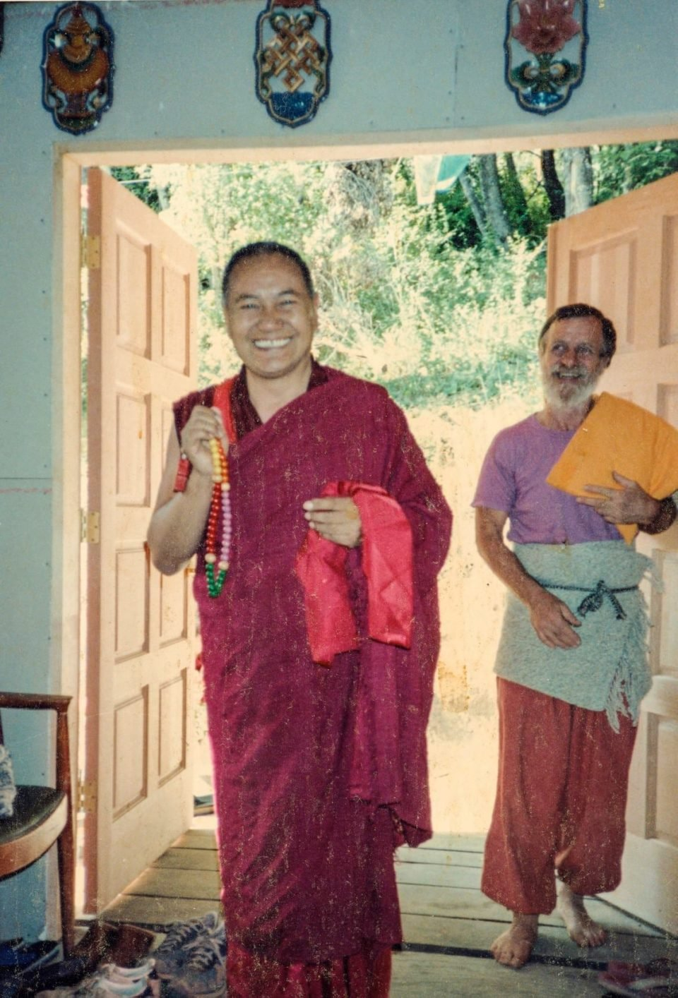 Lama Zopa Rinpoche's Message on the Death of Åge Delbanco
