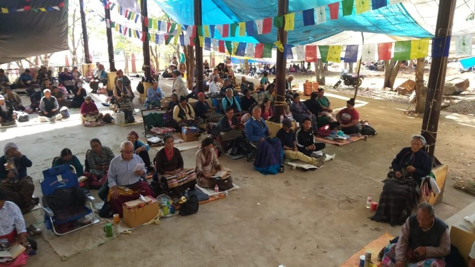 Funding a Community Hall for 4,500 at Dhondenling Tibetan Settlement, Kollegal, India