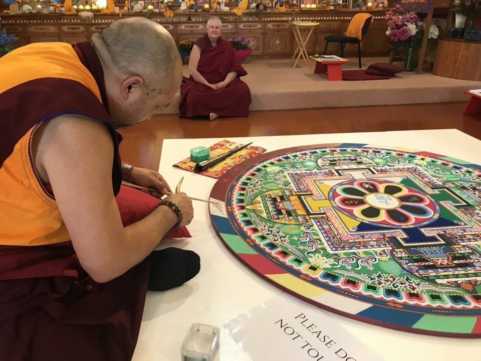 Mahamudra Centre Welcomes the Community to a Sand Mandala Festival
