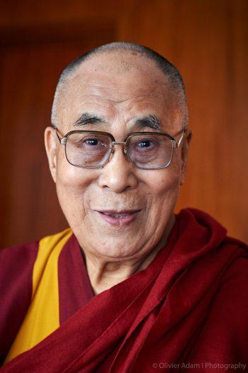 portrait of his holiness the dalai lama
