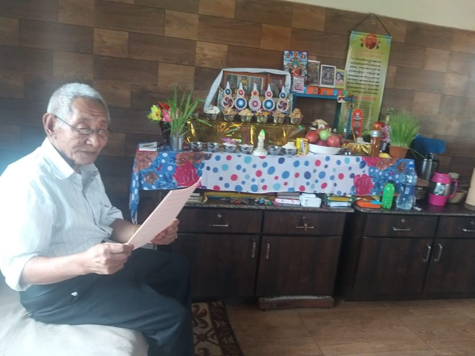 Tibetan Elders Creating Merit in Elderly Homes in India