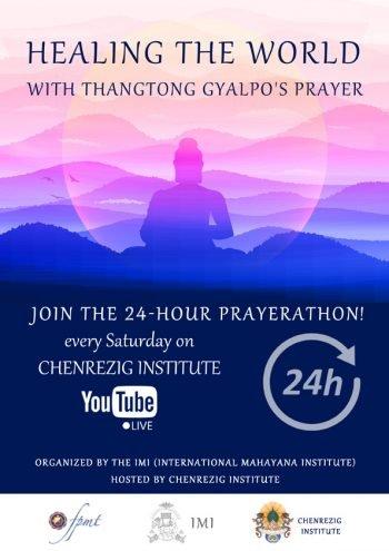 Poster for Online Prayerathon