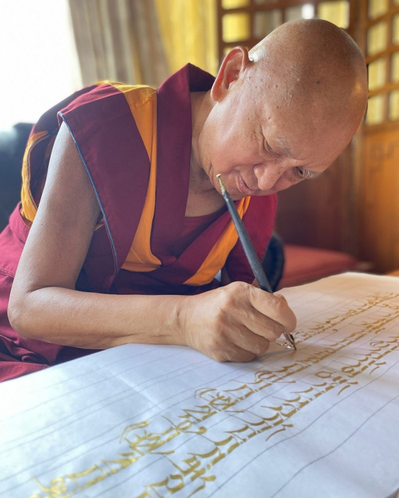Lama Zopa Rinpoche Explains the Benefits of Writing the Prajnaparamita Sutra — Part TWO