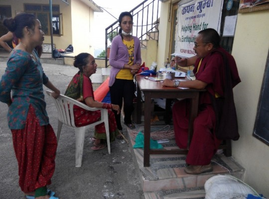 Over US$50,000 worth of supplies have been offered to families and individuals in need in Rowaling, Nepal, following the earthquake devastation.