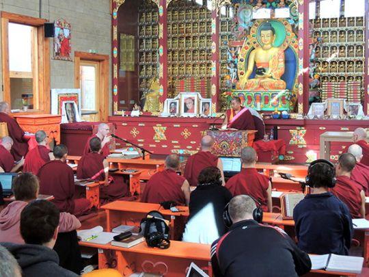 The full-time Masters Program at Nalanda Monastery, France