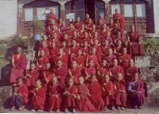 Since 2009, Lama Zopa Rinpoche has sponsored the nuns of Tashi Chime Gatsal Nunnery, Nepal, to complete 100 Million Mani Retreats.