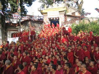 Kopan Monastery was established in 1971 by Lama Yeshe and Lama Zopa Rinpoche and is now It is the home to 360 monks, lamas, teachers and workers.