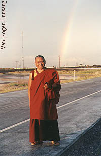 Rinpoche in Salt Lake City, Utah, 1997