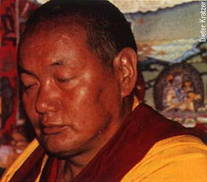 Lama Thubten Yeshe. Photo by Dieter Kratzer