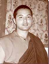 The previous and present incarnations of Khunu Rinpoche.