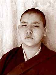 The previous and present incarnations of Ling Rinpoche