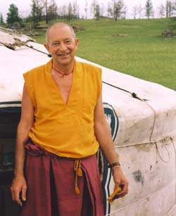 Ven. Thubten Gyatso. Photo by Kloie Picot.
