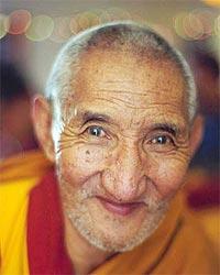 Lama Kyabje Ribur Rinpoche