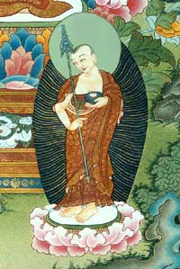 Maugdgliana, one of Lord Buddha's principle disciples.